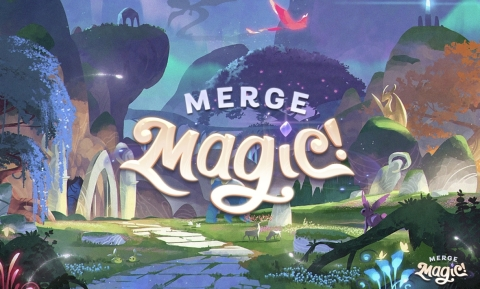 New Puzzle Adventure Game Merge Magic! (Graphic: Business Wire)