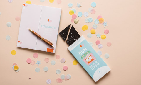 Sweeter Cards, chocolate bar greeting cards, produced by RRD (Photo: Business Wire)