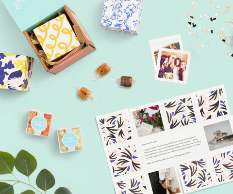 Greetabl, patented gift boxes, produced by RRD (Photo: Business Wire)