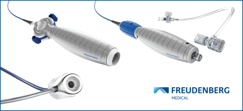 Composer® EPIC and Composer® Toccata Catheter Handle Platforms and HyperSeal® Mini Hemostasis Valve from Freudenberg Medical (Graphic: Business Wire)