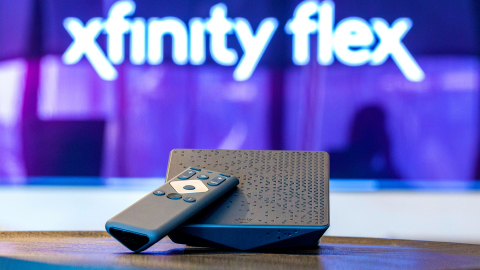 Comcast today announced that Xfinity Flex is now included with an Xfinity Internet-only subscription. (Photo: Business Wire)