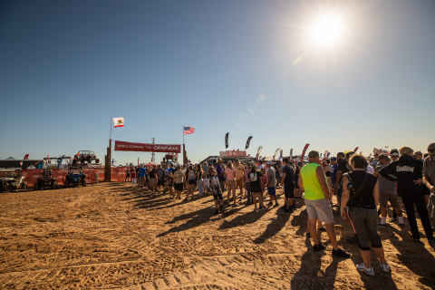 Welcome to Camp RZR (Photo: Business Wire)