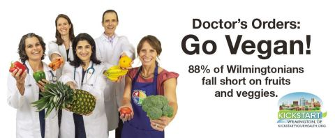 Ads urge Wilmingtonians to eat more fruits and vegetables. (Graphic: Business Wire)