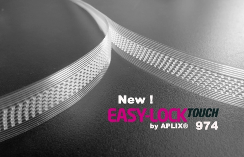 New EASY-LOCK by APLIX® Touch 974- Enhanced closure for small bags. (Photo: Business Wire)