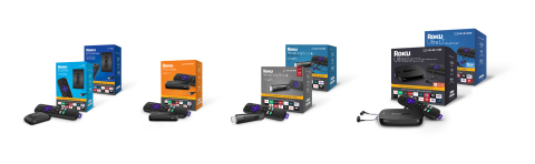 Roku Streaming Player Lineup (Photo: Business Wire)