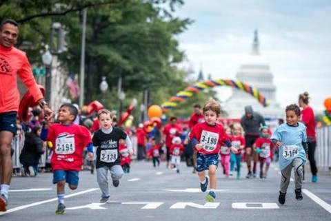 The annual Race for Every Child leads participants through the heart of Washington, DC and is followed by the popular 100-yard Kids Dash down Pennsylvania Avenue – a reminder of why so many participate. (Photo: Business Wire)