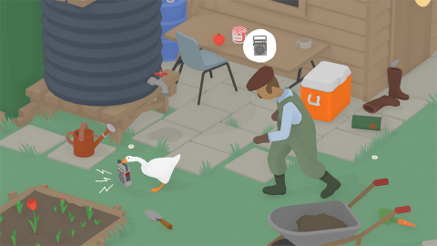 The Untitled Goose Game will be available on Sept. 20. (Photo: Business Wire)