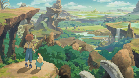 The Ni no Kuni: Wrath of the White Witch game will be available on Sept. 20. (Photo: Business Wire)