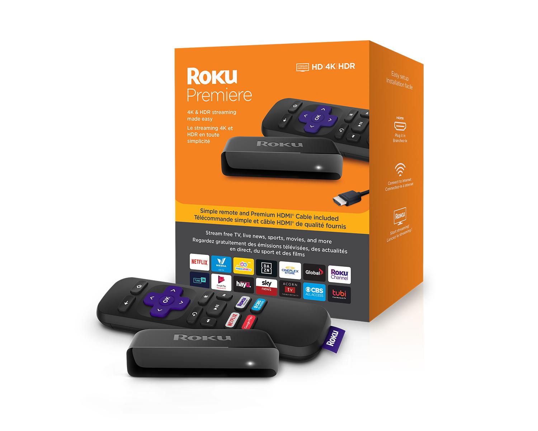 Roku Premiere Streaming Player 4K
