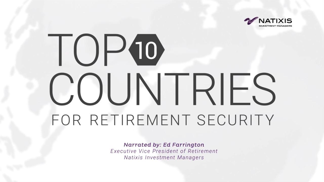 2019 Natixis Global Retirement Index