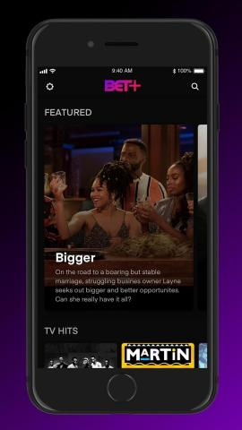 BET+ IS NOW STREAMING BLACK CULTURE. BE THE FIRST TO EXPERIENCE MORE THAN 1,000 HOURS OF AD-FREE CONTENT FROM ACCLAIMED AND RISING AFRICAN AMERICAN CREATORS, SIGN UP NOW AT BET.COM/BETPLUS (Photo: Business Wire)