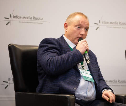Mr. Parshin Alexey, Technical Director of Hytera in Russia, was giving the speech of the Evolution of Hytera Converged Solutions (Photo: Business Wire)