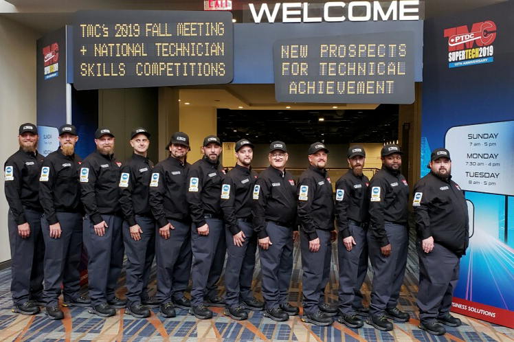Ta Truck Service >> Ta Truck Service Technicians Continue Winning Tradition At