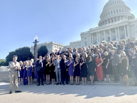 More than 125 direct sellers from across the United States join the Direct Selling Association for DSA Capitol Hill Day to meet with Members of Congress. (Photo: Business Wire)