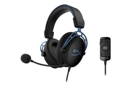 Cloud Alpha S Gaming Headset Features Powerful Tuning Options Including Bass Adjustment Sliders, Custom-Tuned HyperX 7.1 Surround Sound and Built-in Dual Chamber Technology (Photo: Business Wire)