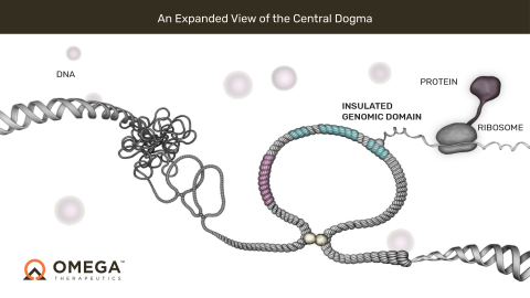 An expanded view of the Central Dogma of Biology (Photo: Business Wire)