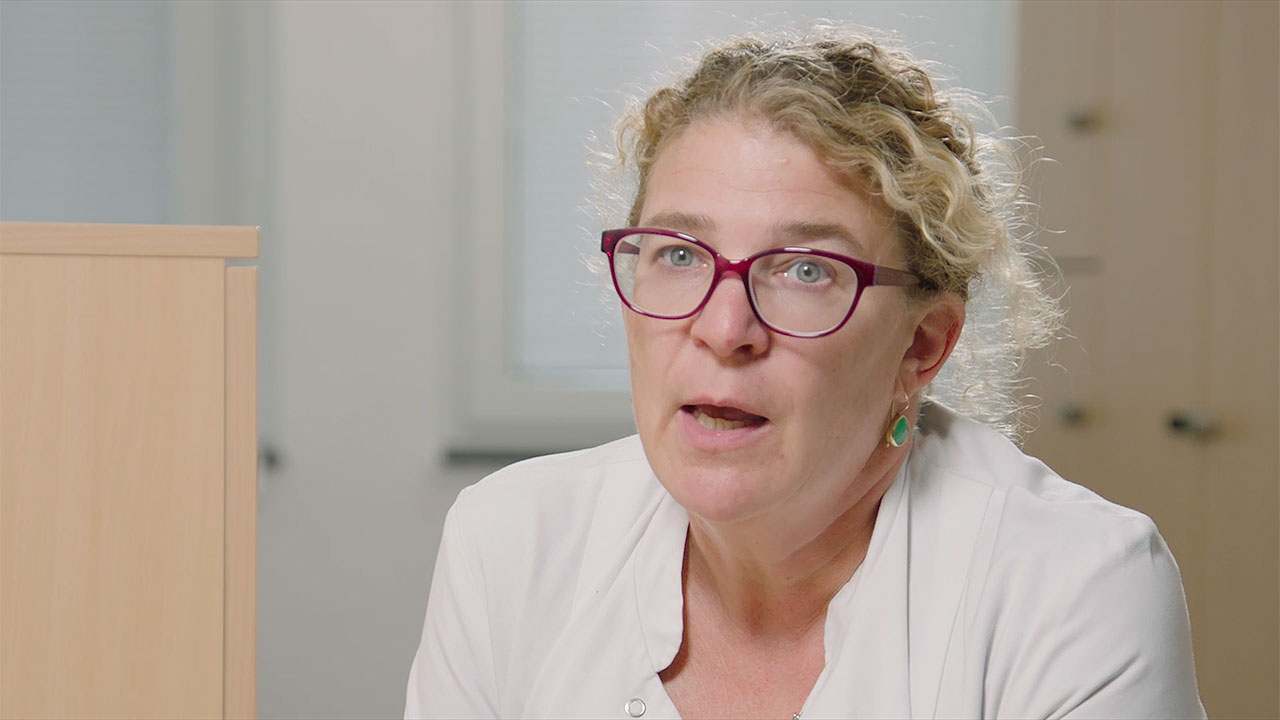 Professor Kerstin Hellwig, Department of Neurology at St. Josef Hospital, Bochum, Germany. (Photo: Business Wire)