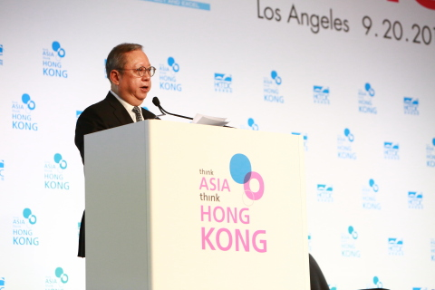 Dr. Peter K N Lam, Chairman of the Hong Kong Trade Development Council (HKTDC), shared insights into the current business situation in Hong Kong, highlighting opportunities for greater collaboration between U.S. and Hong Kong companies. (Photo: Business Wire)