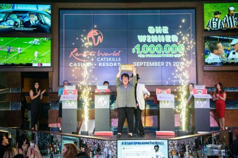 Susan Cutrone Winner of the $1 Million Giveaway on Saturday September 21 (Photo: Business Wire)