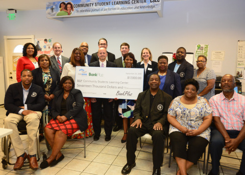 Community Students Learning Center received $17K in grant funds from BankPlus and FHLB Dallas at a check presentation today in Lexington, Mississippi. (Photo: Business Wire)