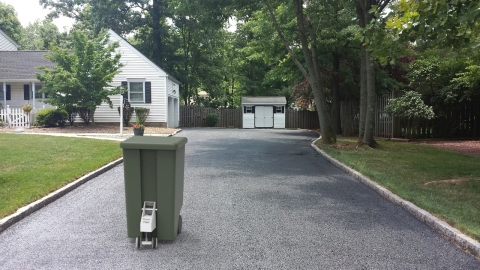 Smart home company Rezzi's SmartCan has been selected as a winner of Protolabs' Cool Idea Award. SmartCan is a motorized garbage can attachment and mobile app that autonomously brings trash to the curb and returns the garbage can to its base once emptied. (Photo: Rezzi)