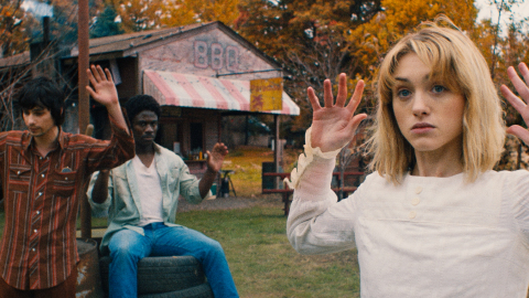 New movie Tuscaloosa, starring (L-R) Devon Bostick, Marchánt Davis and Natalia Dyer, to have festival premiere at Nashville Film Festival. (Photo: Riley Harder Pictures)