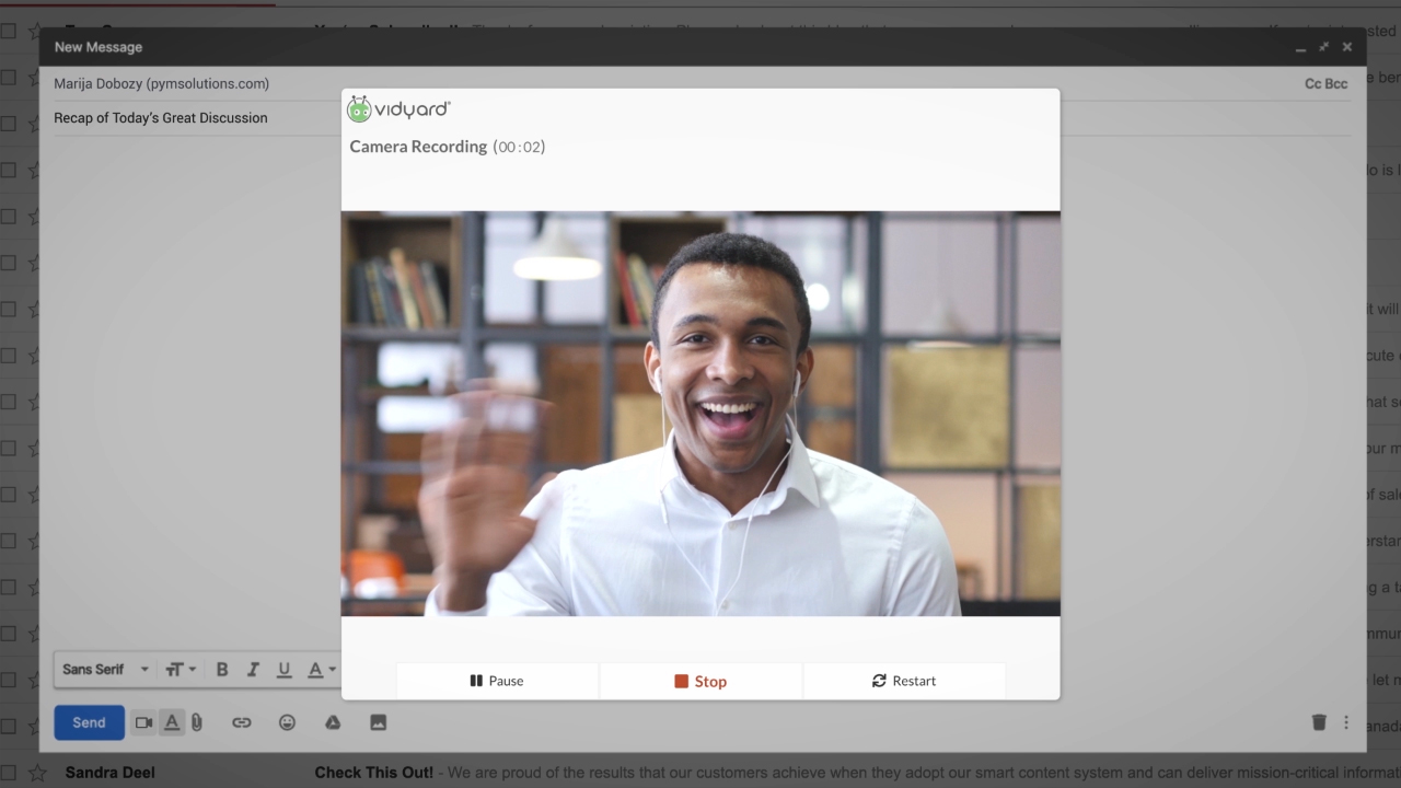 Vidyard releases free and pro offerings of its business-grade video hosting service to help all companies easily create, customize and share videos without the drawbacks of consumer-oriented video hosting services like YouTube and Vimeo.