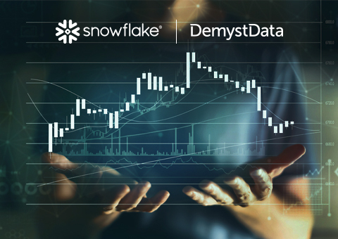 DemystData to Securely Deliver Real-Time Access to Thousands of Premium Datasets on Snowflake Data Exchange (Graphic: Business Wire)