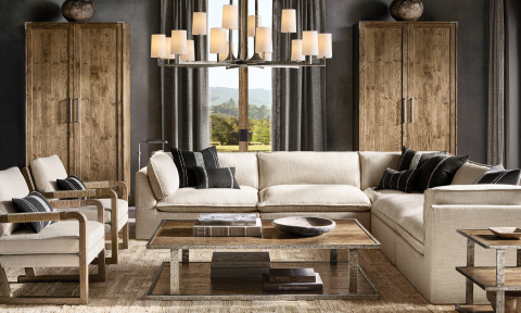 RH INTERIORS 2019 INTRODUCES THE COSTERA MODULAR SECTIONAL (Photo: Business Wire)
