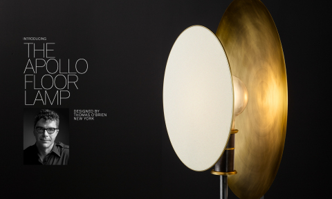 RH MODERN 2019 INTRODUCES THE APOLLO FLOOR LAMP BY THOMAS O'BRIEN (Photo: Business Wire)