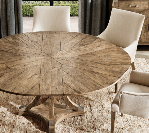 RH INTERIORS 2019 INTRODUCES THE ADDISON JUPE EXTENSION DINING TABLE (Photo: Business Wire)