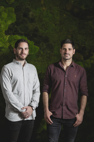 Cycode co-founders (l.) Ronen Slavin, CTO and (r.) Lior Levy, CEO. Pioneering the first-ever solution for source code control, detection and response, Cycode announces $4.6 million in seed funding. (Photo: Business Wire)