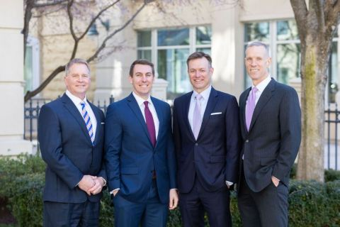 CAM Wealth Management. From left to right: Scott McRoy, Pat Cotherman, Kevin Collison, Christopher Asher. (Photo: CAM Wealth Management)