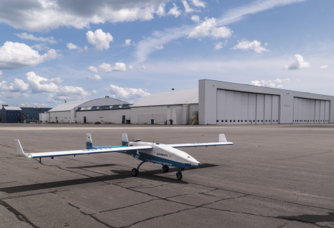 UAV Turbines today announced the inaugural flight of its Monarch 5 engine at Griffiss International Airport. (Photo: Business Wire)