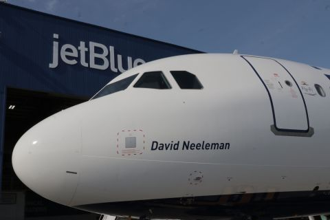 On Sept. 24, 2019 JetBlue announced its newest aircraft, the Airbus A321neo, officially entered scheduled service marking the start of a new and exciting future for the customer-favorite airline's modern fleet. (Photo: Business Wire)