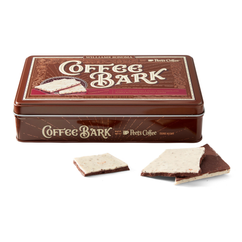 Williams Sonoma and Peet's Coffee Launch New Coffee Bark (Photo: Business Wire)