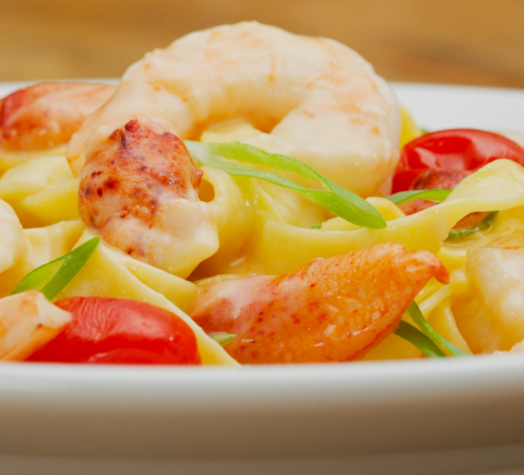 Shrimp + Lobster Fettuccine (Photo: Business Wire)
