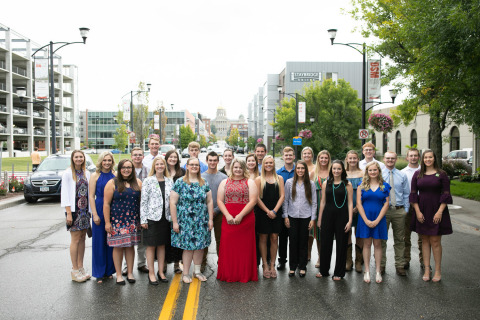 The 2019 Niman Ranch Next Generation Foundation scholarship recipients. (Photo: Business Wire)