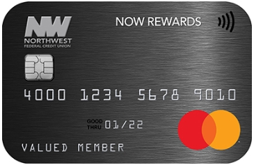 Northwest Federal offers a variety of credit card options, including their NOW Rewards card, which earns 1.25x the points per $1 in purchases that can be used for travel, cash back and more. (Photo: Business Wire)