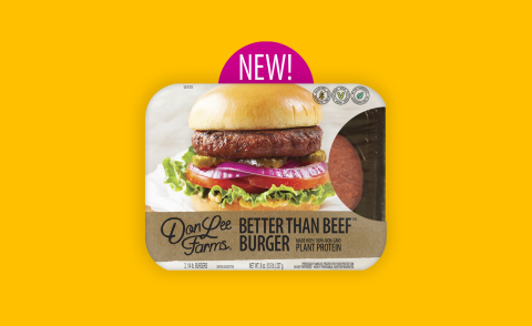Don Lee Farms Better Than Beef™ Burger: Made from Plants. (Photo: Business Wire)