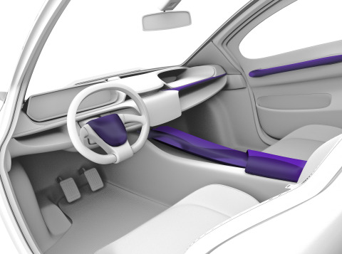 Techniplas ColorFuse Car Interior (Photo: Business Wire)