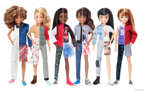 Mattel announced the global unveil of Creatable World™, a customizable doll line inviting all kids to play. (Graphic: Business Wire)