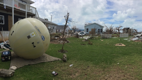 Cubic and Help.NGO Partner to Support Hurricane Dorian Recovery Efforts (Photo: Business Wire)