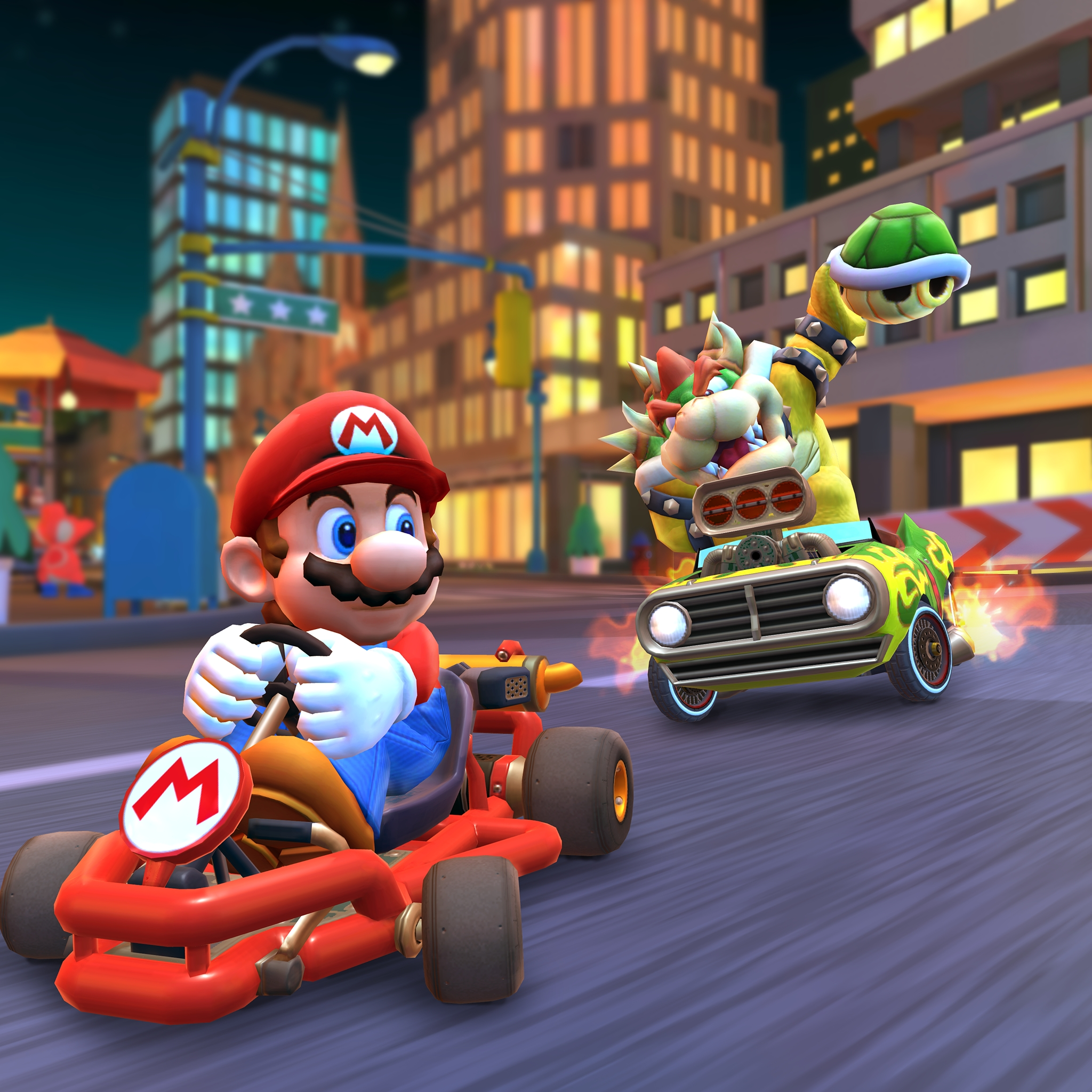 Let S A Race Mario Kart Tour Is Now Available For Smartphone
