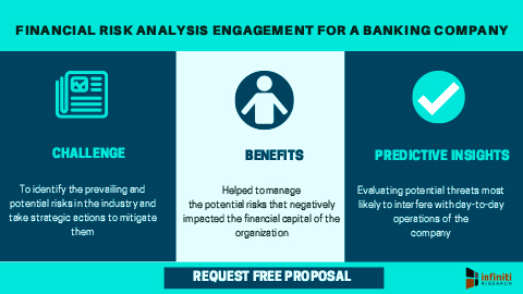 Financial risk analysis engagement for a banking company