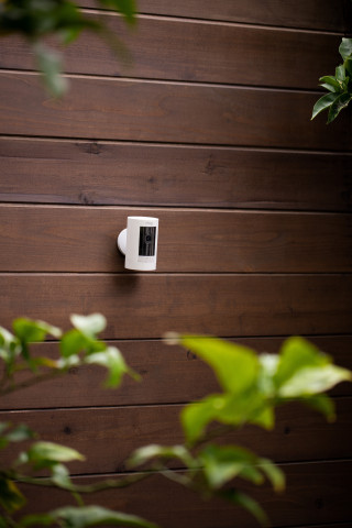 The third-generation Ring Stick Up Cam is also available for pre-order; the Battery power option will retail for $99.99. (Photo: Business Wire)