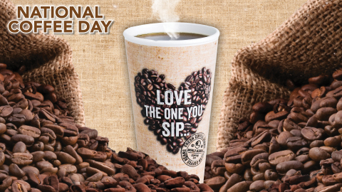 Enjoy a free cup of our World Blends coffee on Sunday, Sept. 29. (Photo: Business Wire)