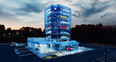 Carvana Debuts 22nd Car Vending Machine in Oklahoma City, First of its Kind in the Sooner State. (Photo: Business Wire)