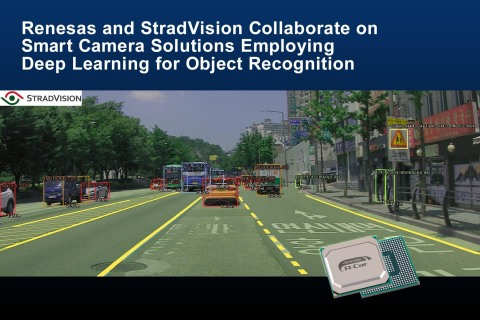Renesas and StradVision collaborate on Smart Camera solutions employing deep learning for object recognition (Photo: Business Wire)