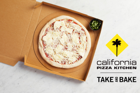 California Pizza Kitchen is celebrating National Pizza Month by giving away up to 10,000 free Take and Bake Pizzas in partnership with Grubhub on Oct. 1 (Graphic: Business Wire)